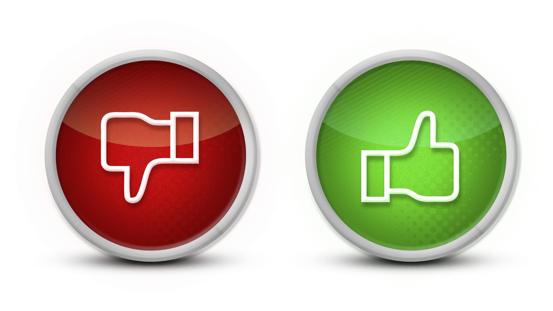 Negativo positivo logo