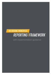 UN Rahmenkonzept zur Menschenrechts-Berichterstattung