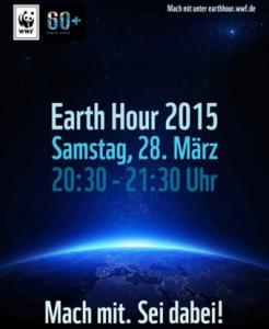 Earth Hour 2015 - Denkanstoß für den Klimaschutz