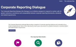 Corporate Reporting Dialogue - The landscape map