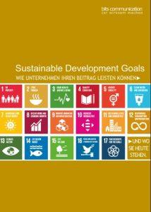 SDGs Wie Unternehmen ihren Beitrag leisten können. Und wo sie heute stehen.